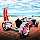 T Rat Rod at the Beach DownUnder by ChasSinklier