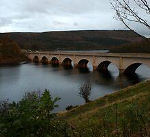 Lady Bower Reservoir Bridge by ShaunDaysh