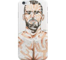 portrait of a man#2 iPhone Case/Skin