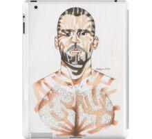 portrait of a man#2 iPad Case/Skin