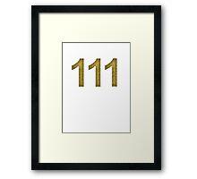 Vault-Teck 111 Shirt  Framed Print