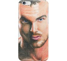Handsome man iPhone Case/Skin