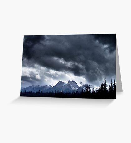 Storm,Kootenay Crossing Greeting Card