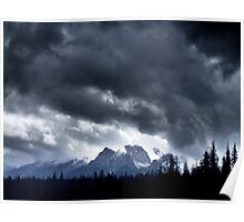 Storm,Kootenay Crossing Poster