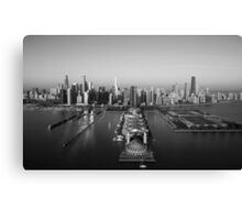 Chicago by Air Canvas Print