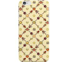 Sailor Moon Diagonal - Yellow iPhone Case/Skin