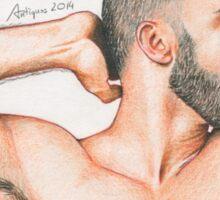Naked Spaniard Sticker