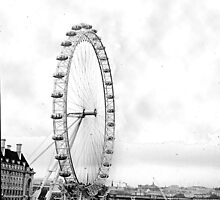 London Viewing Wheel 2000. New Angle. by cjkuntze
