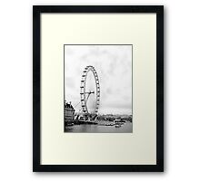 London Viewing Wheel 2000. New Angle. Framed Print