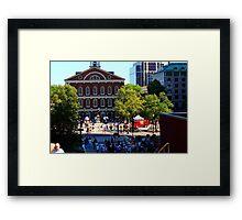Boston II Framed Print