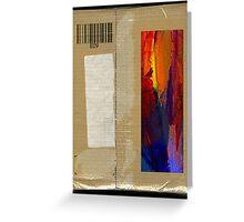 Brown Paper Parcel Greeting Card