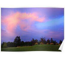 Cordova Bay Golf Club Poster