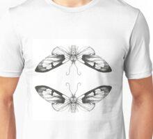 Moth Art Print Unisex T-Shirt