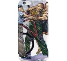 Stooges New Bike Trouble iPhone Case/Skin
