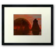 City Towers Framed Print