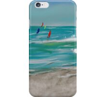 Distant Sails Created On iPad  iPhone Case/Skin
