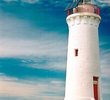 Griffith Island Lighthouse by Norman Repacholi