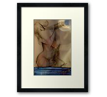 Blue Moon Maiden © Vicki Ferrari Photography Framed Print