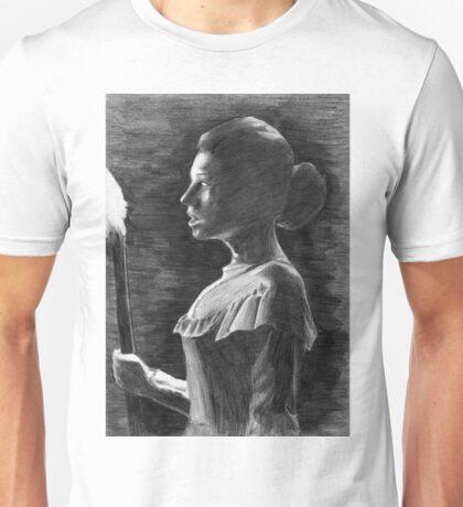 Woman in the dark/ Damsel in distress Unisex T-Shirt