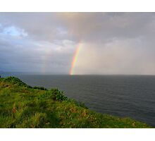 Spring Shower off Lennox Point Photographic Print