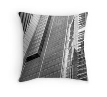 Mono City Reflections Throw Pillow