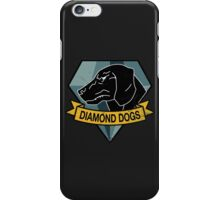 MGS - DIAMOND DOGS Logo iPhone Case/Skin