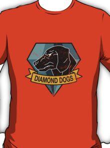 MGS - DIAMOND DOGS Logo T-Shirt