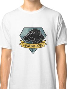 MGS - DIAMOND DOGS Logo Classic T-Shirt