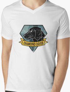 MGS - DIAMOND DOGS Logo Mens V-Neck T-Shirt