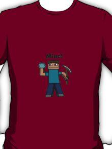 Minecraft Mining art T-Shirt