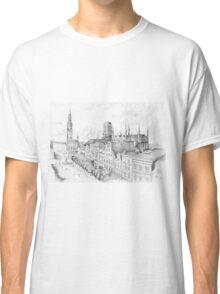 Gdansk panorama Classic T-Shirt