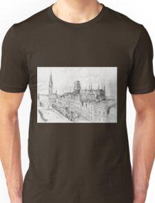 Gdansk panorama Unisex T-Shirt