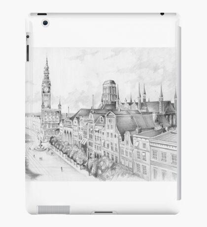 Gdansk panorama iPad Case/Skin