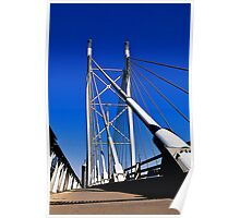 Suspension Bridge & Walkway - Rendition Poster