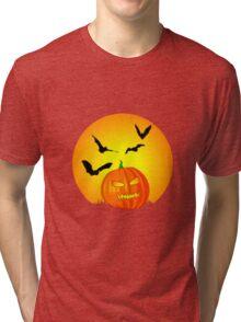 Halloween Moon Tri-blend T-Shirt