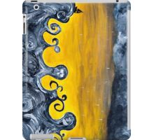 Black Ocean Squall iPad Case/Skin