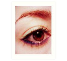 oh, eyes Art Print
