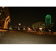 View from the Dallas City Hall Photographic Print