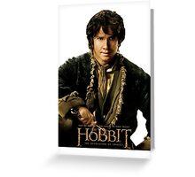 The Hobbit - Bilbo Baggins Greeting Card