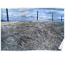 Landscape austere Poster