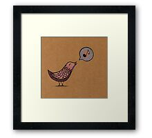 and your bird can sing  Framed Print