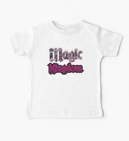 Attractions of Magic Kingdom Baby Tee
