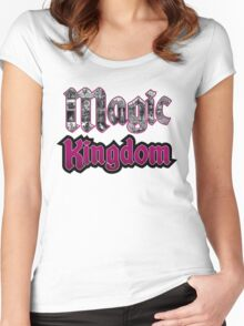 Attractions of Magic Kingdom Women's Fitted Scoop T-Shirt