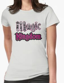 Attractions of Magic Kingdom Womens Fitted T-Shirt