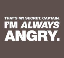 I'm ALWAYS Angry Baby Tee