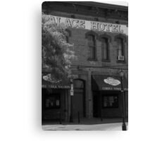The Palace Hotel Canvas Print