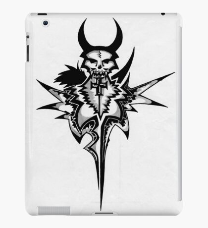 Skull tattoo iPad Case/Skin