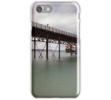 Mumbles pier and lifeboat station iPhone Case/Skin