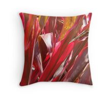 Firey Cordelines-( Macro) Throw Pillow