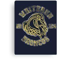Skyrim - Football Jersey - Whiterun Broncos Canvas Print